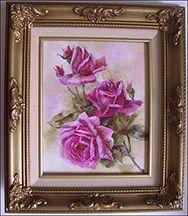 Oil Roses