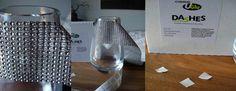 UGlu Dashes 1000 per roll $29 Uglue, U-glue, U-glu (attaches diamond wrap to glass & flowers to branches))