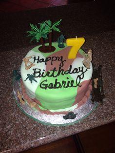 Army halo birthday cake Cakes decorated Pinterest Halo