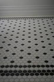hexagonal tile bathroom - Google Search