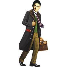 Franz Kafka Shaped Card