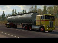 [ATS 1.36] American Truck Simulator - Late Autumn/Mild Winter -  Kenwort... American Truck Simulator, Late Autumn, Trucks, Winter, Winter Time, Truck, Winter Fashion