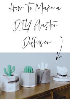 How To Make a DIY Plaster Diffuser - Motherhood Defined Diy Plaster, Plaster Molds, Fun Diy, Cool Diy, Room Diffuser, Old Newspaper, Types Of Rooms, Make Color