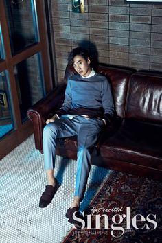 Lee Kwang Soo - Singles Magazine April Issue '15