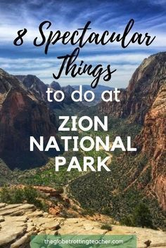 8 Spectacular Things to Do at Zion National Park! Utah's National Parks are incredible and Zion is arguably the gem. With so many incredible things to do in Zion National Park, you're sure to have an unforgettable trip! #travel #usa #nationalpark #Utah #ZionNationalPark #outdoor #adventuretravel