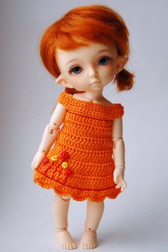 Joy - So Much Fun (Pukifee / Lati Yellow crochet dress)