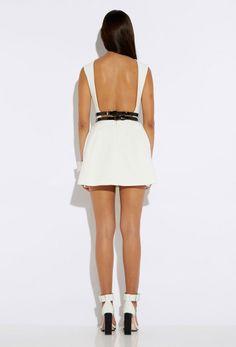 Dime Cream Backless Mini Dress £135