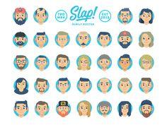 "Slap! Stickers | ""Family Roster"" by Rocky Roark for Slap! Stickers"