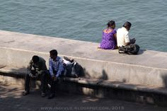 At Nariman Point, Mumbai, 2015