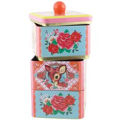 3 Layer Tiffin Tin from England