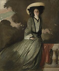 Portrait of Mrs. John White Alexander by John White Alexander, 1902