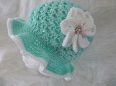 Creating Beautiful Things in Life: Easy Crochet Spring/Easter Hats - Free Pattern