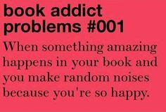 Book Addict Problems #001