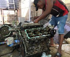 Sunday work Just to beat deadlines... the last part of this Ford Edge engine rebuild . . . . . #toolguard #engine #rebuild #ford #edge #mechanic #sunday #work #abuja #garage #technology #abujacars #lifestyle #performance #petrolhead #Nigeria #instamechanic