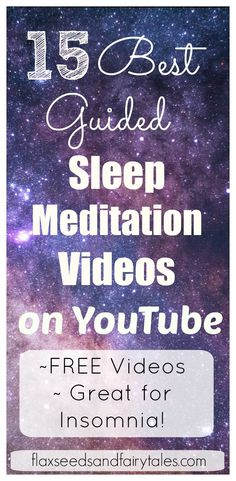 Looking for the BEST guided meditation for sleep? Check out this incredible list of 15 relaxing sleep meditations that will put you to sleep instantly! These guided sleep meditation videos are all FRE Sleep Meditation For Kids, Meditation Before Bed, Guided Meditation For Sleep, Yoga Nidra Meditation, Meditation Videos, Best Meditation, Meditation For Beginners, Meditation Techniques, Chakra Meditation