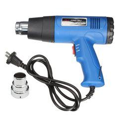 220V 1500W Heat Gun Hot Air Gun Dual Temperature Heater Power Tool Adjustable