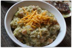 Super Easy Chickpea, Brown Rice & Broccoli Crockpot Casserole ---> Recipe Review