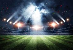 Old Baseball Field Photo Backdrops Bright Glitter Photography Background for Club Parties Soccer Stadium, Football Stadiums, Football Field, Baseball Field, Football Stadium Wallpaper, Glitter Photography, Background For Photography, Photography Backdrops, Photo Backdrops