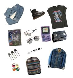 """""""90/80s teen"""" by itskoda on Polyvore featuring MadeWorn, O'Neill, Peek and Christian Dior"""