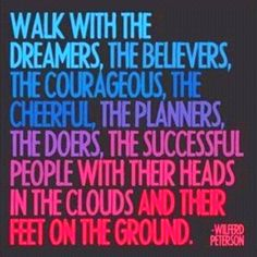Chase those dreams and pass them!!!!