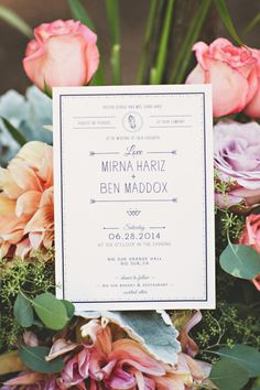 Pretty invitations: http://www.stylemepretty.com/california-weddings/big-sur/2015/04/22/bohemian-redwood-wedding-in-big-surmirna-ben-bohemian-redwood-wedding-in-big-sur/ | Photography: Briana Purser - http://brianapurserphotography.com/