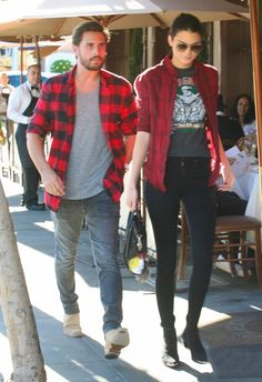 November 25, 2014- Kendall & Scott out to lunch in Beverly Hills