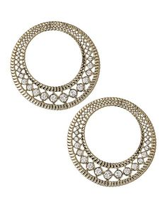 THE ORIENT EXPRESS COLLECTION  Tsarina Swarovski crystal hoop earrings  Fall/Winter Collection. Made in Italy  Available now for pre-order.  Shipment in October