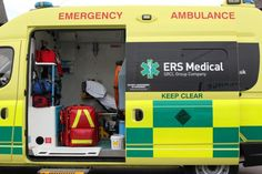 Emergency patient transport services by ERS Medical - http://www.ersmedical.co.uk/service/emergency-patient-transport/#