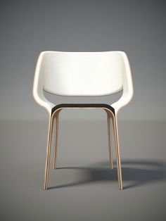 Siя chair concept #pin_it #design @mundodascasas See more here: www.mundodascasas.com.br