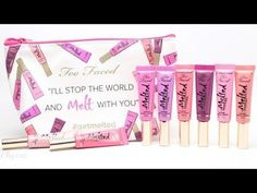 Too Faced Melted Metals Lipsticks Review - #melted #lipsticks #lippies #toofaced #phyrra  - Bellashoot iPhone & iPad, Bellashoot.com (mobile-friendly)