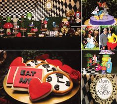 Enchanting Wonderland 30th Un-Birthday Party by Chakoda Design! http://hwtm.me/YeMNAB