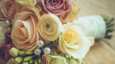 Preview wallpaper bridal bouquet, rose, design, composition 3840x2160