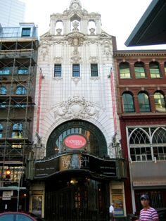 The Boston Opera house is in Boston, Massachusetts #architecture