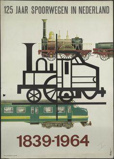 Nederlandse Spoorwegen ~125 Jaar spoorwegen in Nederland 1839-1964