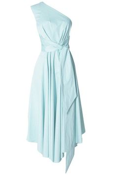 The Cool Girl's Guide To Bridesmaid Dresses #refinery29  http://www.refinery29.com/cool-bridesmaid-dresses#slide-3  One-ShoulderWear it with fancy heels for the ceremony and lace-up gladiator sandals after.