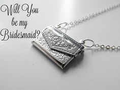 A personal favorite from my Etsy shop https://www.etsy.com/listing/270788302/will-you-be-my-bridesmaid-silver
