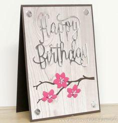 Happy Birthday Karten – Kreativwerkstatt