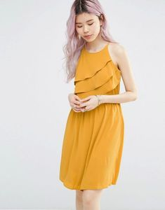 Buy NOW  Only Sleeveless Halterneck Dress With Drape Detail - Gold - http://www.fashionshop.net.au/shop/asos/only-sleeveless-halterneck-dress-with-drape-detail-gold/ #ClothingAccessories, #Detail, #Drape, #Dress, #Female, #Gold, #Halterneck, #Only, #With, #Womens, #WomensDresses #fashion #fashionshop