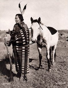 Crow Dog 1832-1918  Another prominent Brule leader, is best remembered today for having killed Spotted Tail in August 1881. This photo was taken by John A. Anderson in 1898.