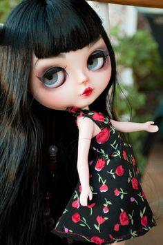 Betty Custom Blythe doll 02 by HRDolls pin up OOAK by HRDolls