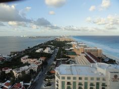 The View from my balcony at Secrets The Vine Cancun