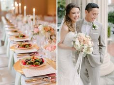 Maggie Bride Francis wore Marianne by Maggie Sottero at her Elegant Handmade Pastel Wedding | David Abel Photography