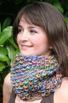 Fast Seed Stitch Cowl by Taiga Hilliard | Knitting Pattern - Looking for your next project? You're going to love Fast Seed Stitch Cowl by designer Taiga Hilliard. - via @Craftsy
