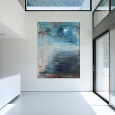 Items similar to Large Contemporary Original Modern Abstract Wall Decor Painting by Libby Fine Art on Etsy Real Estate Office, Selling Paintings, Office Wall Art, Contemporary, Modern, My House, Art Pieces, Interior Decorating, Wall Decor