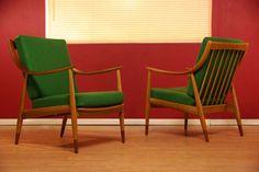 Danish Teak Lounge Chairs by Peter Hvidt  Orla Mølgaard-Nielsen