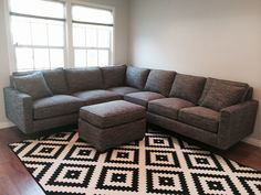 """Hana"" Sofa/Sofa Sectional - Every style can be customized in virtually any way possible!  www.MonarchSofas.com More custom pieces on our Houzz profile! http://www.houzz.com/pro/thesofaworks/monarch-sofas"