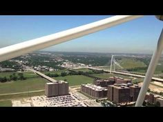 On top of the five sixty restaurant. Regency Hotel, The Reunion, Airplane View, Tower, Restaurant, Photo And Video, Youtube, Twist Restaurant, Computer Case