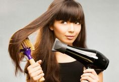 Is it true that you straighten your hair every day, without prejudice to their condition?
