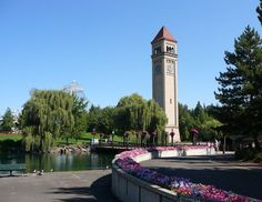 10 Must-See Attractions in Washington State: Riverfront Park in Spokane