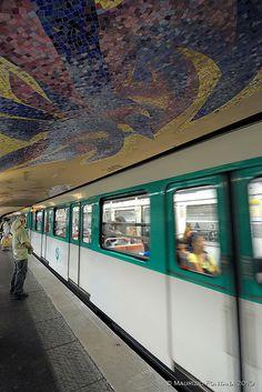 underground | Cluny – La Sorbonne (Paris Métro) | Paris, France
